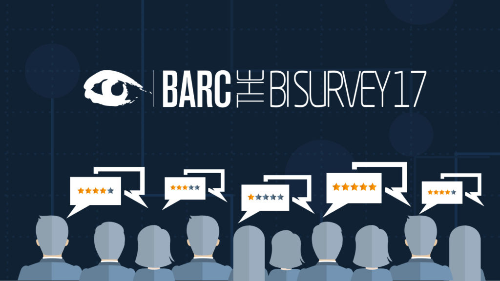 BARC BI Survey 17 – The choice is Qlik