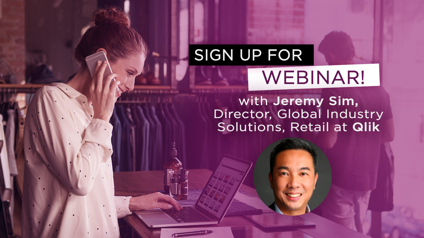 Retail Webinar with Qlik's Jeremy Sim