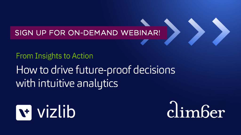 Vizlib Webinar – from insights to action